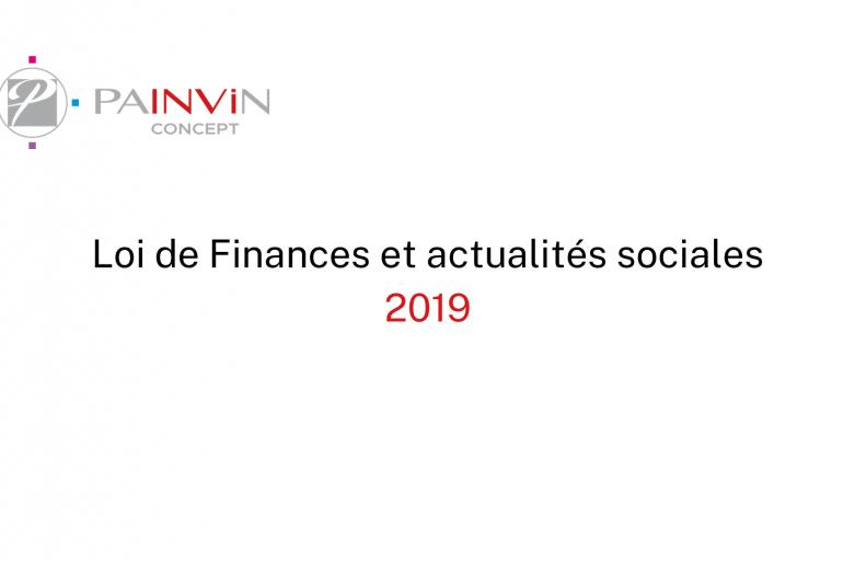 Notre événement Loi de Finances 2019
