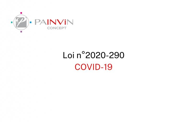 Loi n°2020-290 du 23 mars 2020 d'urgence pour faire face au COVID-19
