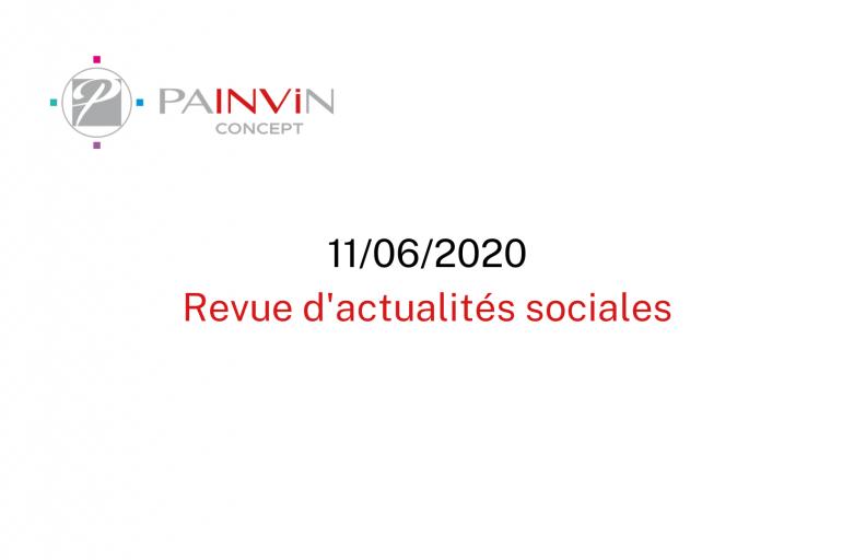 Actualités sociales juin 2020
