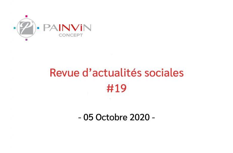 Revue d'actualités sociales du 05 Octobre 2020